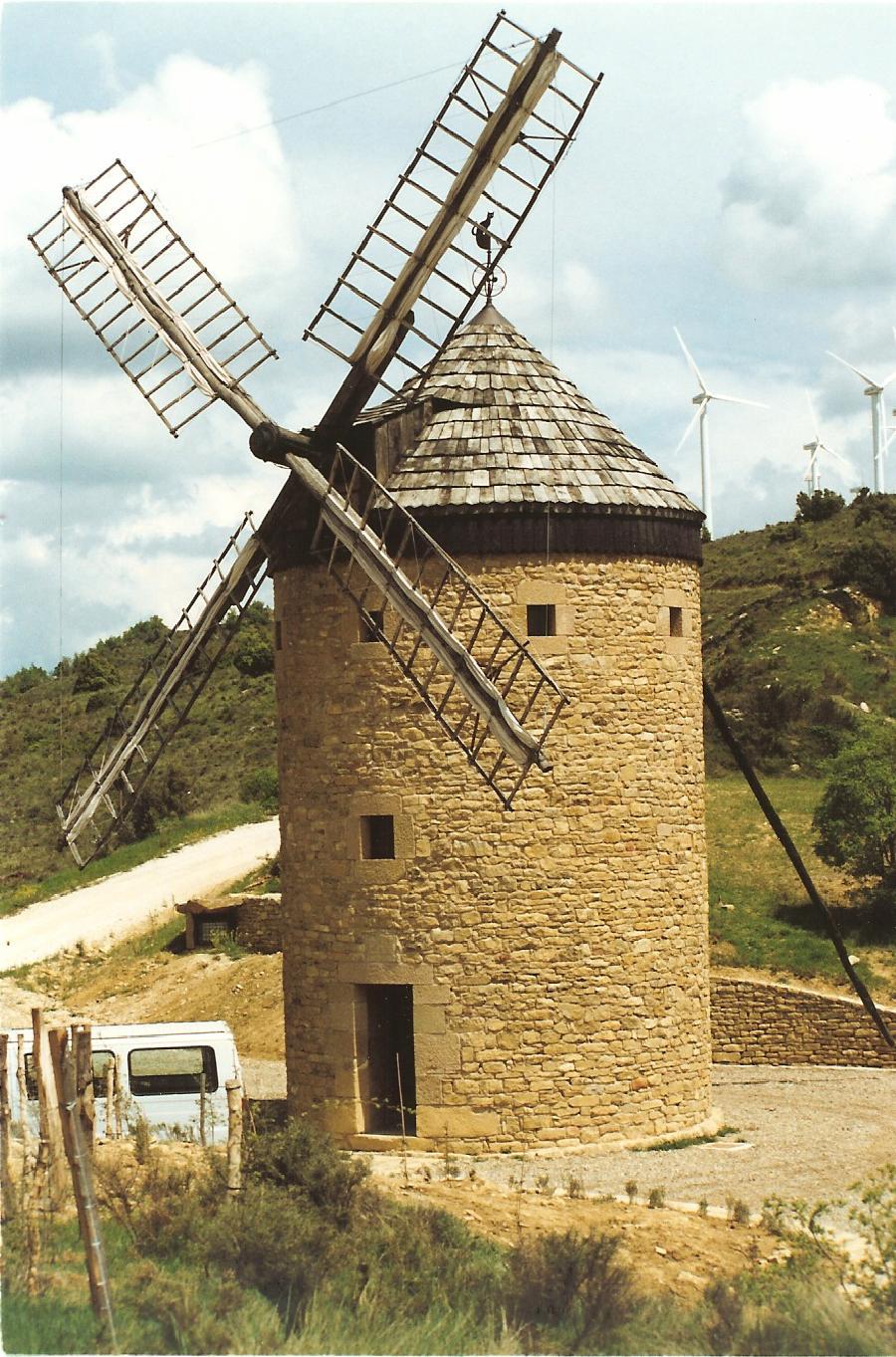 Molino de viento - Olleta